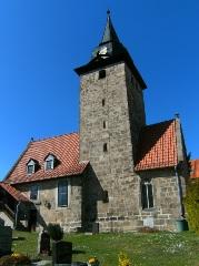 Zeigerheimer DorfkircheSüdseite