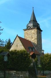 Zeigerheimer Dorfkirche Westseite